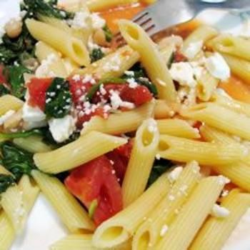 Greek Pasta with Tomatoes and White Beans: White Beans, Greek Pasta, Allrecipes Co Uk, Food, Made, Cannellini Beans, Tomatoes, Pens