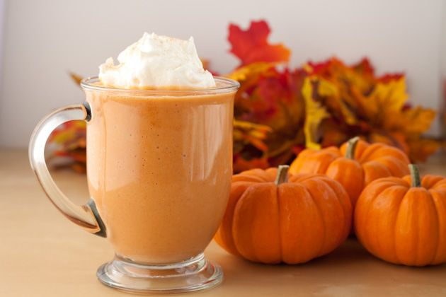 Pumpkin Spice Smoothie.  This smoothie is creamy and light. Not only will it add extra fiber to your day, but having pumpkin in the morning will keep you fuller, longer!