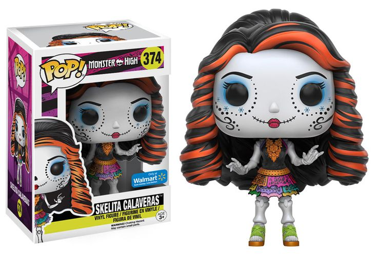 Funko releasing Skelita Calaveras pop vinyl from Monster High