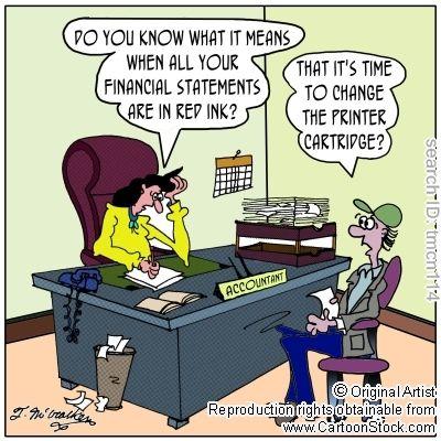 financial cartoons | Financial Ratios