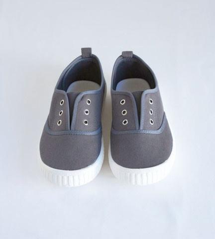 Tennis Shoe | Charcoal