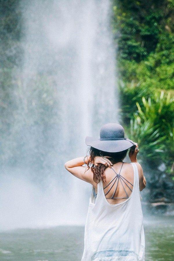 Waterfall exploring in Gold Coast, Australia!