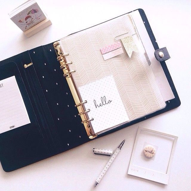 I'm getting the textured black leather personal time planner for myself this Christmas...