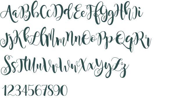 World Of Dance Font: Magnolia Sky Font Download Free (truetype)