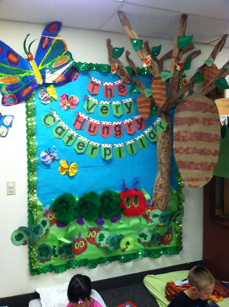 Pin by emily r. on Eric Carle | Hungry caterpillar ...