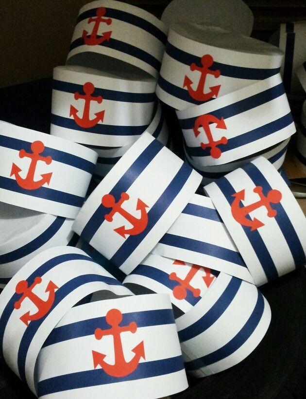 Dicas pra Mamãe: DIY - Chapéu de Marinheiro para festinha infantil