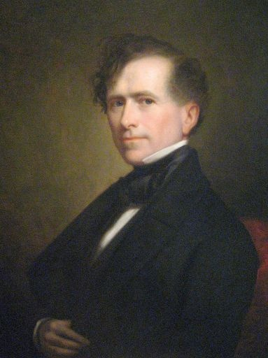 Franklin Pierce, the fourteenth president of the United States, 1853-1857.