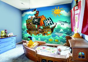 Pirate Themed Wall Murals