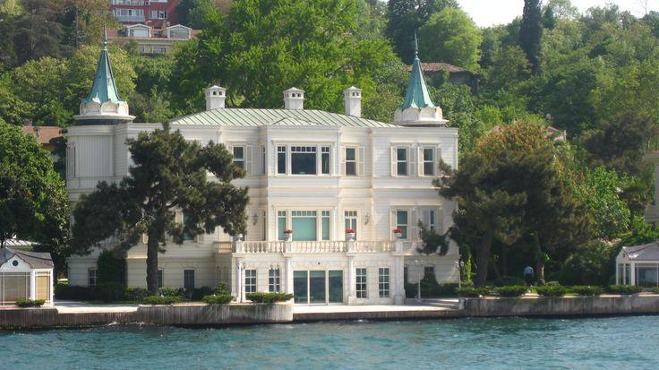 "The shores of Bosphorus - beautiful old mansions... ISTANBUL  ""Mabeyinci Faik bey Yalısı"" Beylerbeyi"