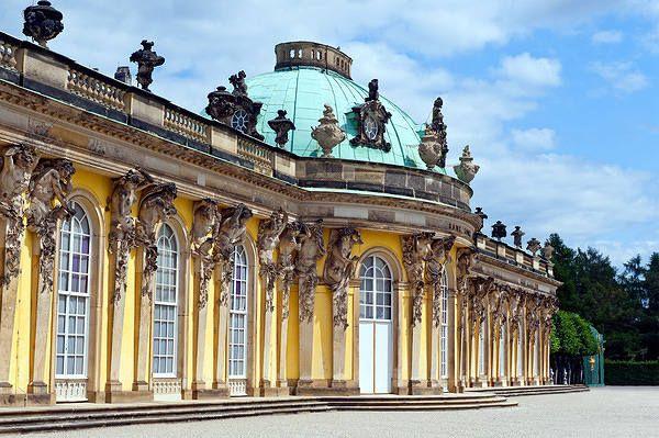 Sanssouci Palace in Potsdam Germany Wallpaper