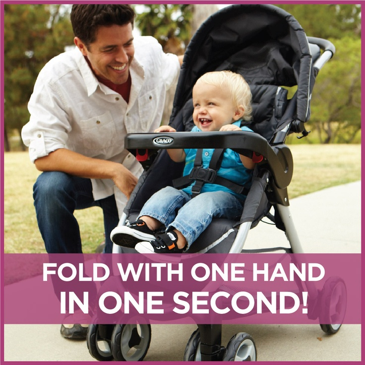 Graco Fast Action Fold Travel System Includes Top