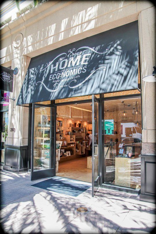 A recent addition to the Center Street shopping district in Anaheim, Home ECO:Nomics is a home décor shop that emphasizes eco friendliness by sourcing products that are recycled, natural, sustainable or local.