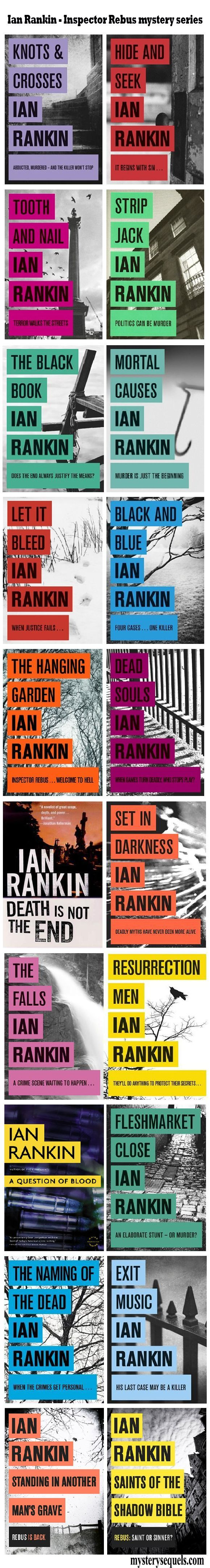 Ian Ranking - Inspector Rebus mystery series