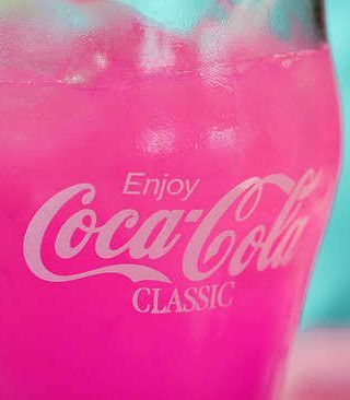 Pink Coca Cola - No recipe...just beautiful!