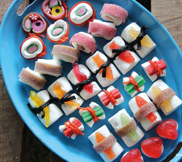 8 Deliciously Brilliant Homemade Candy Recipes: Diy sushi candy.