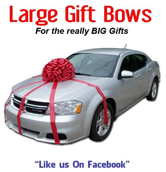 9 Best Giant Car Bows Images On Pinterest
