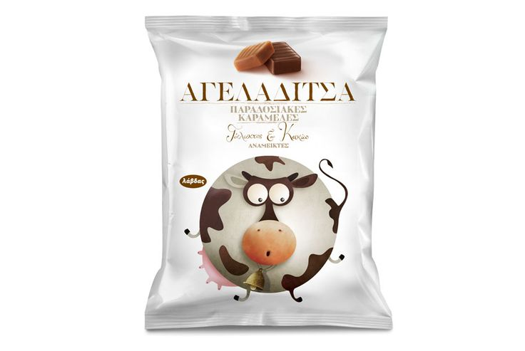 Lavdas traditional toffee-milk candies   mousegraphics