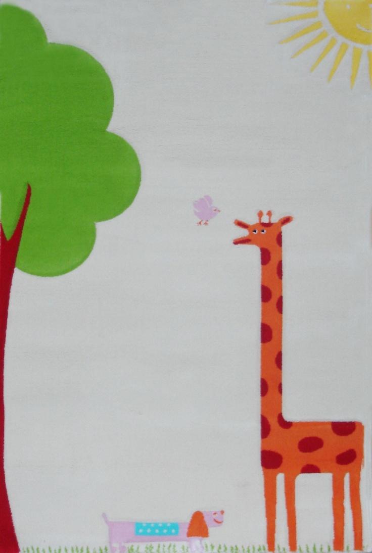 IVI Play Rug: Giraffe