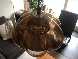 Design lamp. 70-er jaren. Fabrikant Dijkstra.