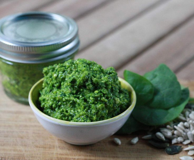Recipe Nut Free Spinach & Feta Pesto by Lyndathermomix - Recipe of category Sauces, dips & spreads