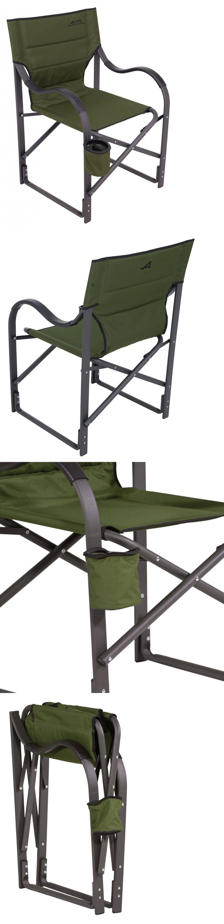 Camping Furniture 16038: Folding Camp Chair Outdoor Seat Heavy Duty Camping Gear Beach Hiking Lounge Tent -> BUY IT NOW ONLY: $78.57 on eBay!