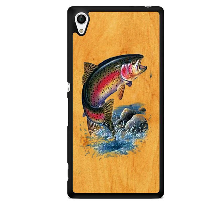 Bass Fishing Game Vintage Sony Phonecase For Sony Xperia Z1 Xperia Z2 Xperia Z3 Xperia Z4