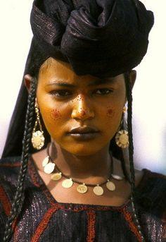 Wodaabe Women, Woman, Global People, Wodaabe Bororo, Woodabe Tribal Niger,Africa.