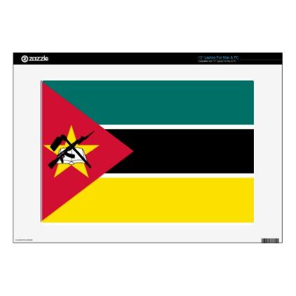 #Low Cost! Mozambique Flag Decal For Laptop - #travel #electronics