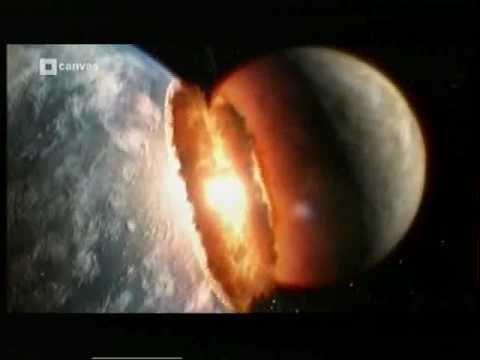 De aarde is ontstaan door samenklitten van planetesimalen. Hoe is dat gebeurd? Wat zou het betekenen mocht de aarde door een groot brokstuk uit de ruimte nu ...