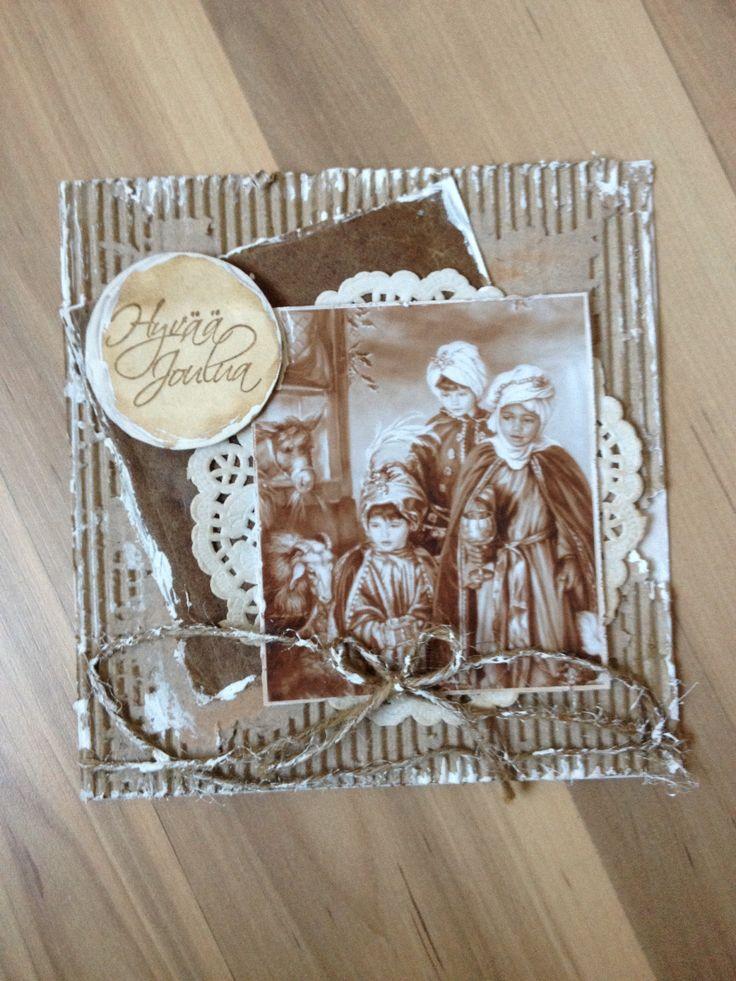 My handmade vintage christmas cards