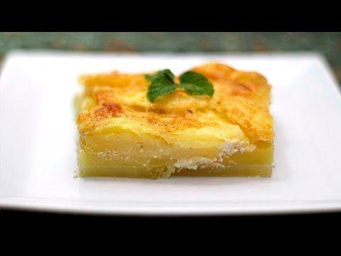 Pastel de patatas para guarnición | Cocina