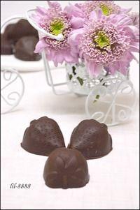 Шоколадные конфеты с жидкой начинкой - Поварёнок.ру