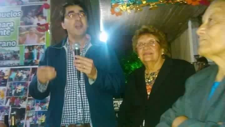 BARRIO BELGRANO Cena con el club de abuelos del Barrio Belgrano organizada por Dora Lopez y Leticia Diaz, junto a Herculano Bocha Ojeda, Florencia Ojeda y parte del equipo del Tekoabuelos. Vamos Para Adelante Corrientes !!!