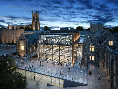 Duke University West Campus Union Renovation Projects