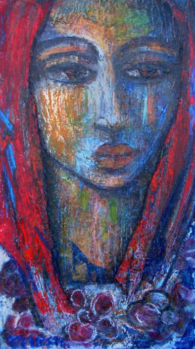 Paintings - SHADOW OF YOUR SHADOW - AN ORIGINAL PAINTING BY OVERBERG ARTIST CELESTE FOURIE-WIID for sale in Hermanus (ID:268507250)