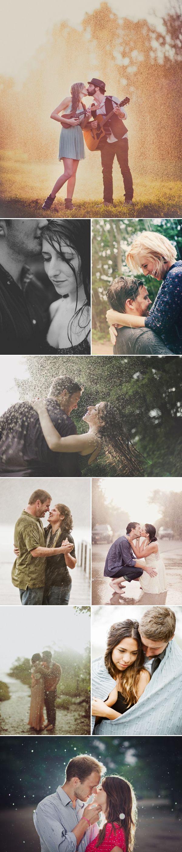 >> In the rain :)