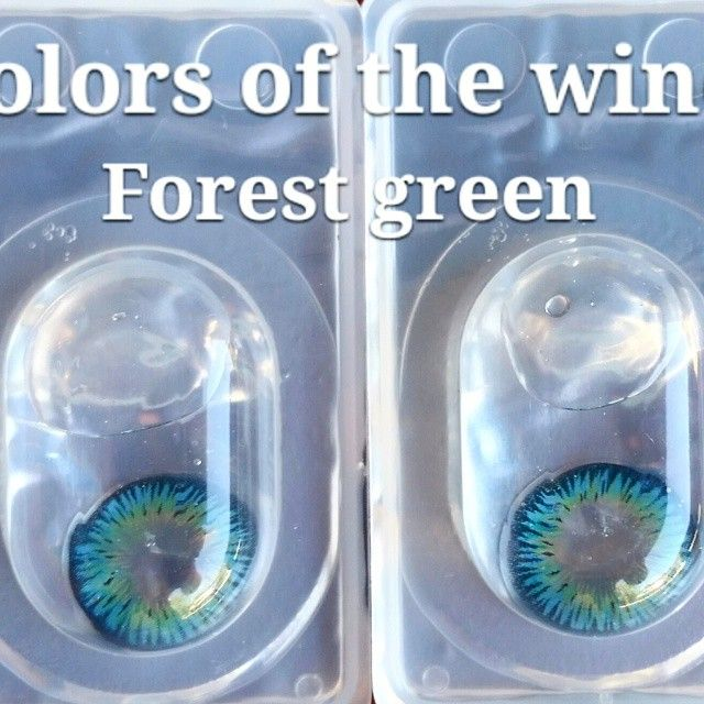 Colored Contact Lenses - Colors of the wind in Forest Green,  $18.50 a pair for this annual lens SAME DAY SHIPPING NO PRE ORDERS NO HASSLE http://www.carolynscontacts.com/page6.html Blue Green Colored Contacts #eye #color #contacts #lenses