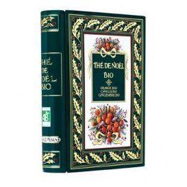 Coffret Thé de Noël orange-cannelle-gingembre bio –: Ce superbe coffret Thé de Noël orange cannelle gingembre Plantasia en métal s'ouvre…