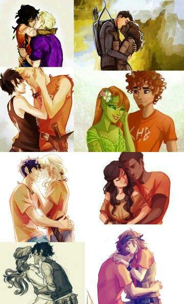 Some random ships: Jasper, Frazel, Thaluke, Groniper(?), Percabeth, Charlena, Caleo and Chrisse.