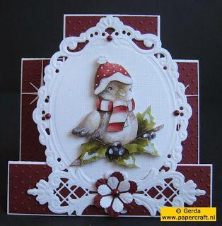 Kerstkaart met Joy! Crafts