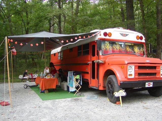 Http Www Schoolbusdriver Org Harley1 Jpg Bus Ideas