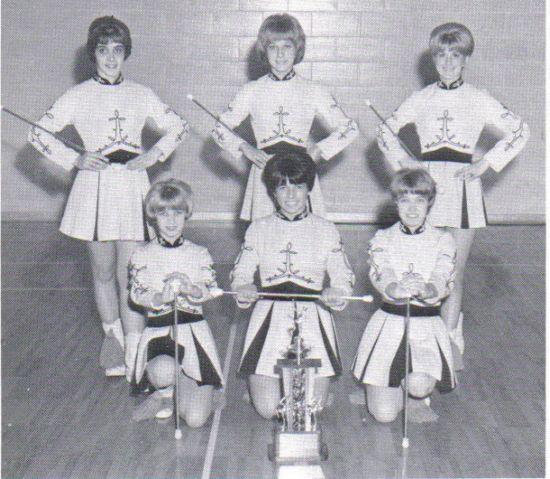 Majorettes - Garfield Heights High School Class of 1967 Garfield Heights, Ohio