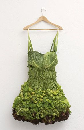 Robe légume - sarah hillenbergen