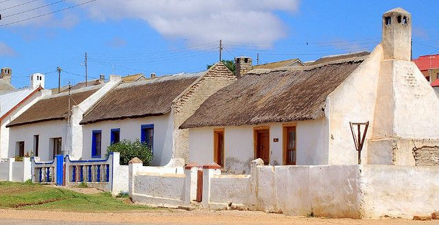 Western cape fisherman's houses