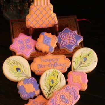 Moroccan Themed Cookies