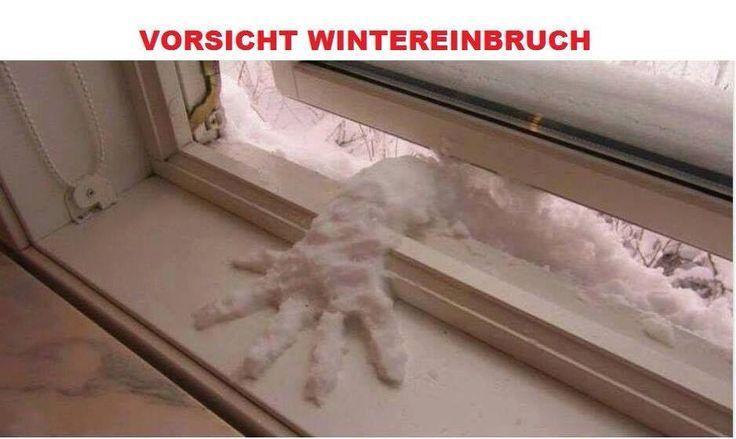 Vorsicht Wintereinbruch