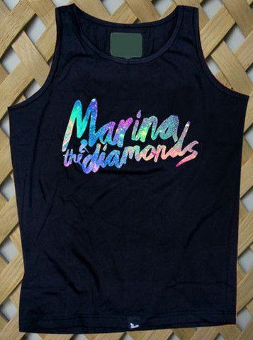 Marina And The Diamonds Tank top #tanktop #tank #top #tanks #tops #clothing #cloth #topsandtee