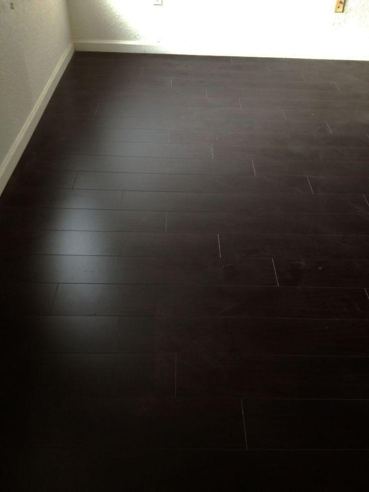 Dark Wooden Laminate Flooring