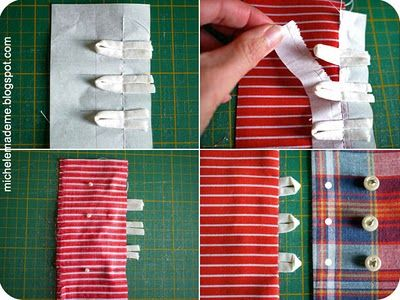 Pickup Some Creativity: Sewing 101 with Michele, Loop Closures and many variations
