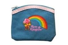 Rose en Rainbow portemonee -De Oude Speelkamer